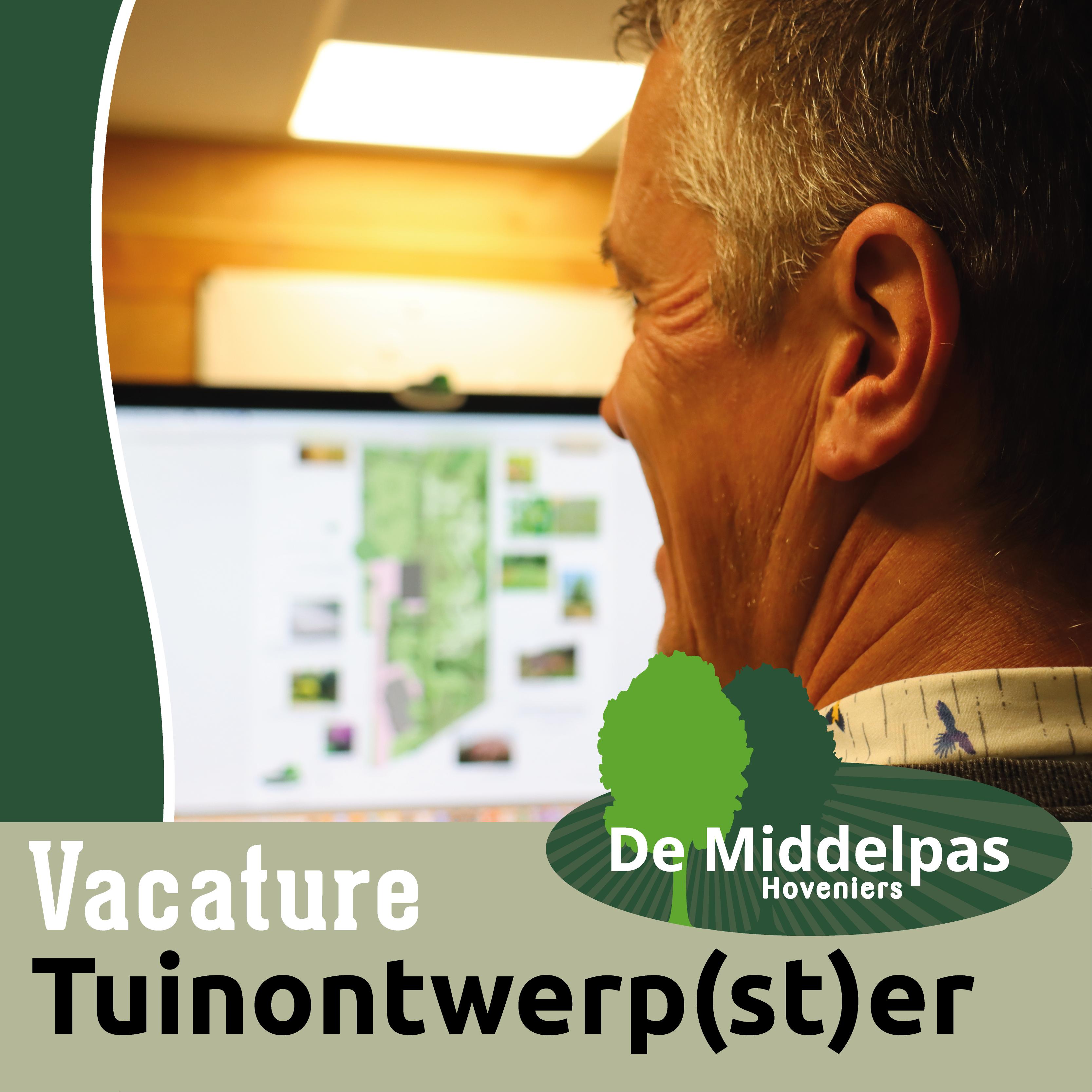 Vacature tuinontwerper - De Middelpas